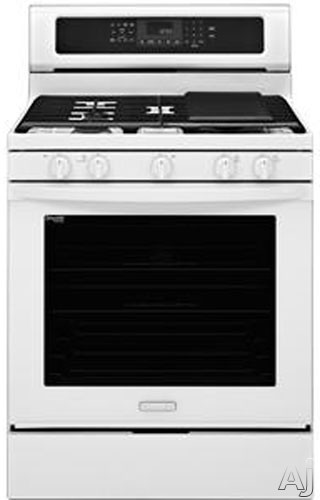 """KitchenAid Architect Series II KGRS202BWH 30"""" Freestanding Gas Range with 5.8 cu. ft. Convection, U.S. & Canada KGRS202BWH"""