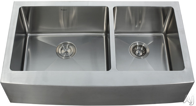 Stainless Steel Double Bowl Apron Sink