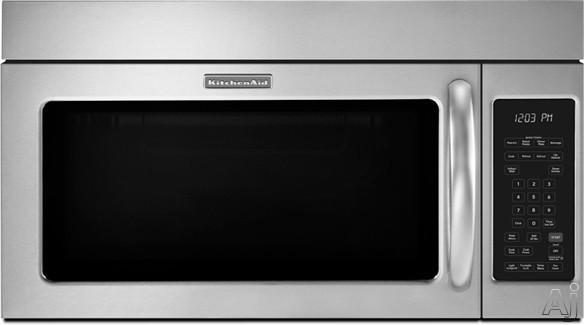 KitchenAid KHMS2040B 2.0 cu. ft. Over-the-Range Microwave with 1000 Cooking Watts, 300 CFM Venting, U.S. & Canada KHMS2040B