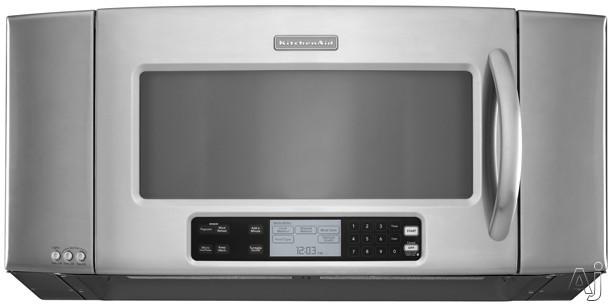 Kitchenaid Drawer Microwave Kitchenaid Architect Series Ii Khms2056s 2 0 Cu Ft Over The