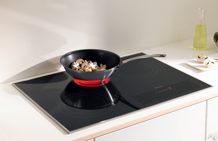 Miele KM5840208 30 Inch Electric Smoothtop Cooktop with 4 Cooking Zones, Direct Selection Plus Touch Controls, Residual Heat Indicators and 3D Glass Design: 208 Volts