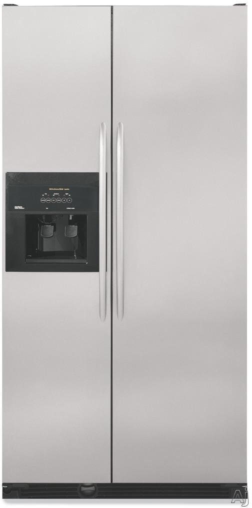 refrigerators side by side refrigerators kscs25fkss