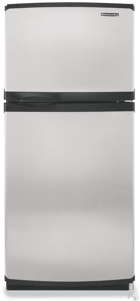 Kitchenaid Ktrc22el 21 5 Cu Ft Freezer On The Top
