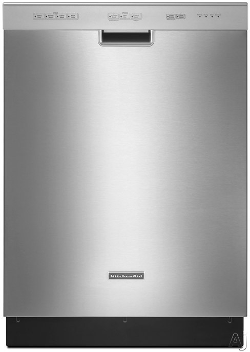 KitchenAid Classic Series KUDC10IXSS Full Console Dishwasher with 4 Wash Cycles, 3 Options, U.S. & Canada KUDC10IXSS