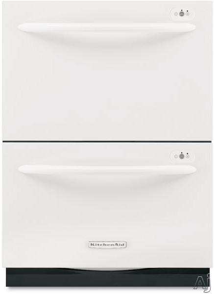 Kitchenaid Kudd01dppa 8546416 24 Quot Two Drawer Dishwasher W