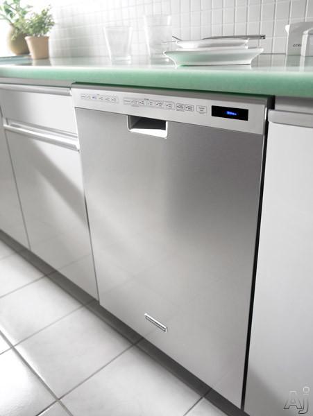 Kitchenaid Kude50cxss Full Console Dishwasher With 6