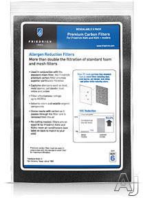 Friedrich Kuhl Series KWCFL Premium Carbon Filters (3 Per Kit) KWCFL