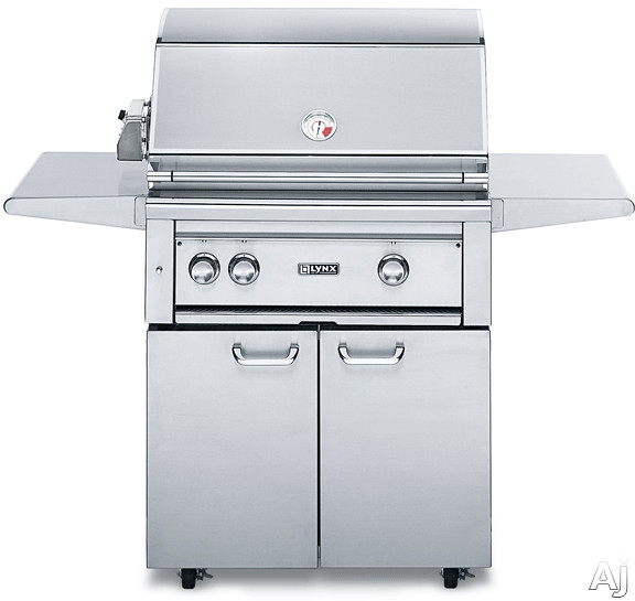 Lynx Professional Grill Series L30ASFR 56 Inch Freestanding Gas Grill with Rotisserie, Infrared Burner, ProSear2 Burners, 840 sq. in. Cooking Surface 50,000 Total BTUs and Electronic Ignition