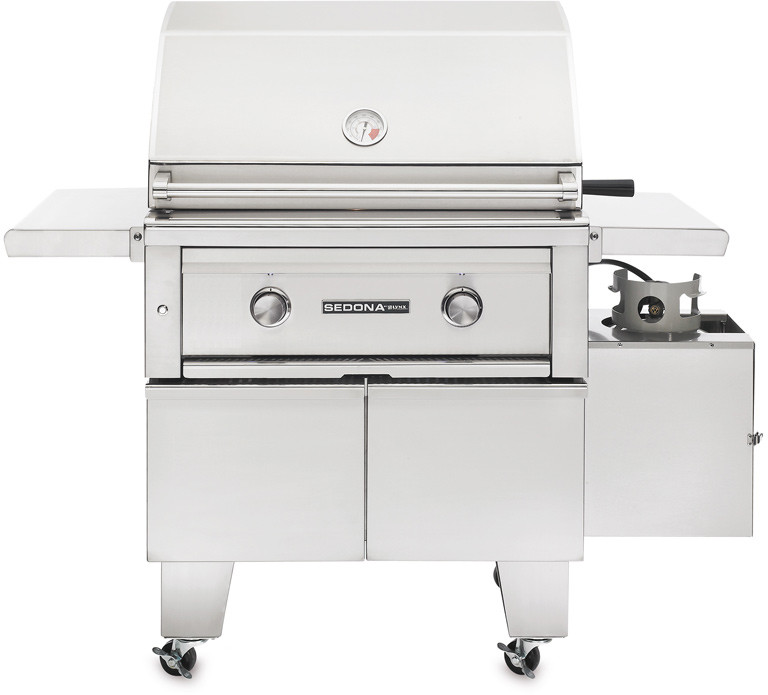 Lynx L500ADA 50 Inch Freestanding Gas Grill with 733 sq. in. Cooking Surface, 46,000 Total BTUs, ProSear Burner, Lynx Hood Assist Kit, ADA Compliant and Halogen Surface Lighting