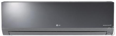 LG Art Cool Mirror LA240HSV2 22,000 BTU Single Zone Wall-Mount Ductless Split System with 27,600 BTU, U.S. & Canada LA240HSV2