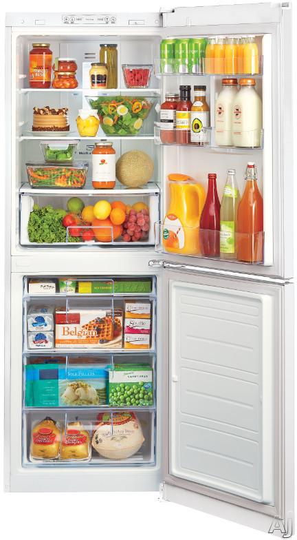 Lg Lbn10551 10 1 Cu Ft Counter Depth Bottom Freezer