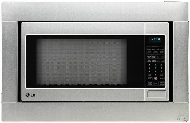 Lg Countertop Microwave With Trim Kit : LG LCRT2010ST 2.0 cu. ft. Countertop Microwave Oven with 1,200 Cooking ...