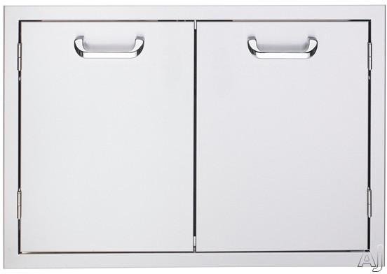 Lynx Sedona Series LDR636 36 Inch Double Access Door with Removable Door Shelves