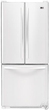 Lg lfc20760sw 19 7 cu ft french door refrigerator with 4 for Split french doors