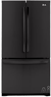 LG LFC25776SB 25.0 cu. ft. French Door Refrigerator with 4 Split Spill Protector Glass Shelves, U.S. & Canada LFC25776SB