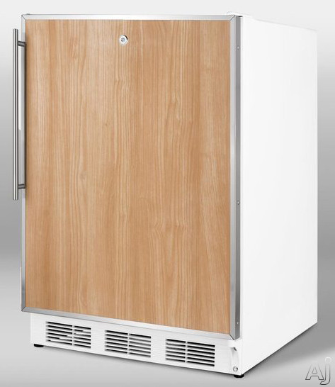 "Summit ALF620LBIFR 24"" Undercounter Freezer with 3 Removable Storage Baskets, Manual Defrost, -25┬░C, U.S. & Canada ALF620LBIFR"