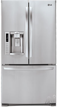 Lg Lfc28768 276 Cu Ft French Door Refrigerator With 4