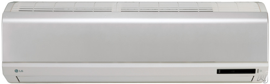 LG LS093HE 10,500 BTU Single Zone Wall-Mounted Cool / Heat Pump Ductless Split System with R-410A, U.S. & Canada LS093HE