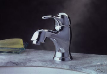 Elkay Allure Collection LK6820CR Single Lever Bathroom Faucet with 5