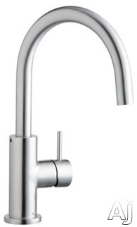 Elkay Allure Collection LK7921SSS Single Lever Cast Spout Kitchen Faucet with 8 Inch Reach 360 ¦ Swing Spout and ADA Compliant
