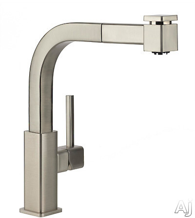 """Elkay Avado Collection LKAV3041CR Single Lever Pull-Out Kitchen Faucet with 9 1 / 8"""" Reach, 360┬░, U.S. & Canada LKAV3041CR"""