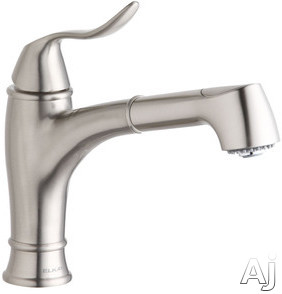 Elkay Echo Collection LKEC1042NK Single Lever Pull-Out Bar / Prep Faucet with Dual Spray, Swing, U.S. & Canada LKEC1042NK