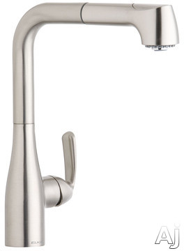 Elkay Gourmet Low Flow Collection LKLFGT2041NK Single Lever Pull-Out Kitchen Faucet with Dual Spray, U.S. & Canada LKLFGT2041NK