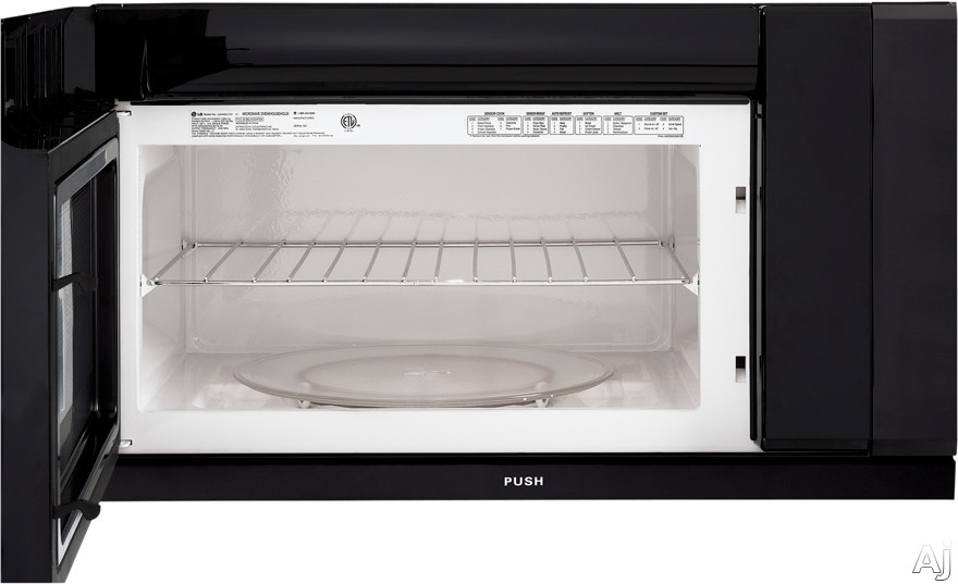 Lg Lmhm2017sb 2 0 Cu Ft Over The Range Microwave With