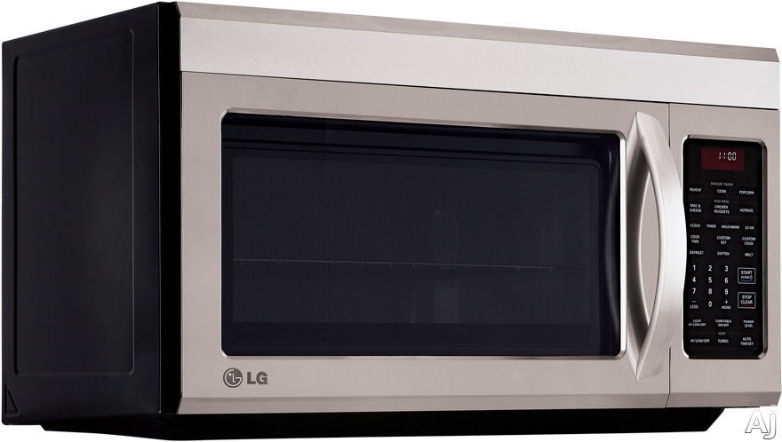 Over The Stove Exhaust Fans : Lg lmv st cu ft over the range microwave with