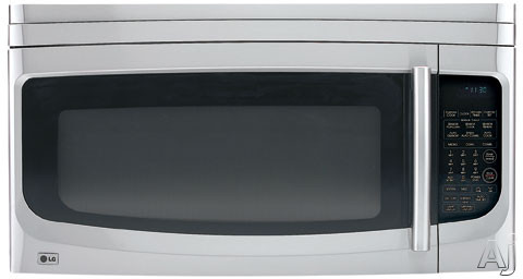 LG LMVH1750ST 1.7 cu. ft. Over-the-Range Microwave Oven with 950 Microwave Watts, 1500 Convection Watts and Sensor Cook Technology: Stainless Steel