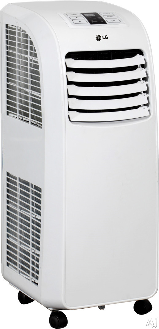 lg lp0711wnr 7 000 btu portable air conditioner with 8 5 eer 2 8 pts hr dehumidification auto. Black Bedroom Furniture Sets. Home Design Ideas