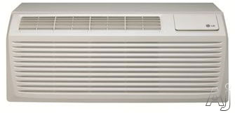 LG LP096HD3B 9,700 BTU Packaged Terminal Air Conditioner with 8,500 BTU Heat Pump, Electric Heat Backup, 12.8 EER, 2.6 Pts/Hr Dehumidification and 265 Volts