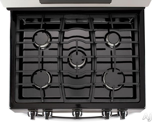 Sealed Burner Cooktop: Stainless Steel Model