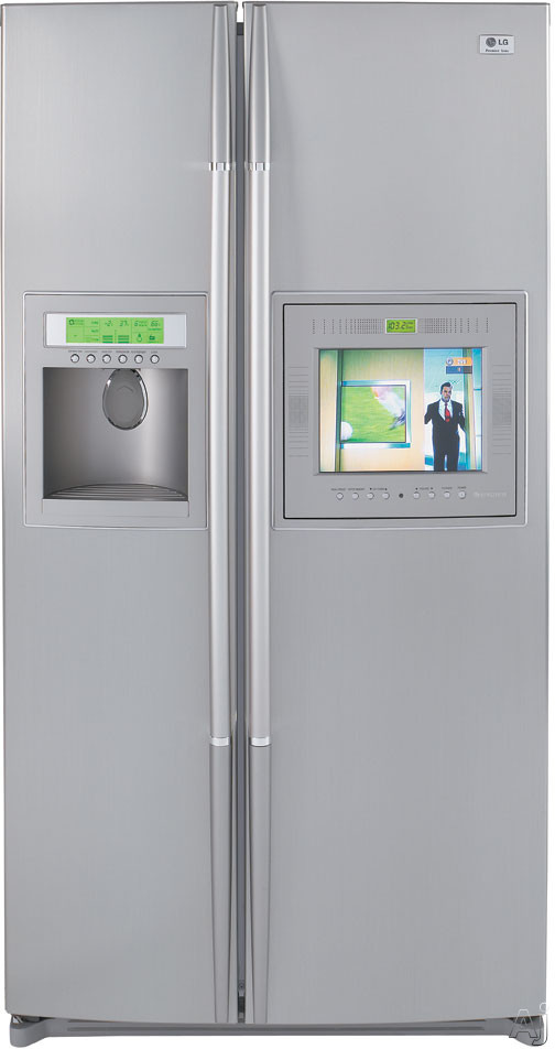 Cleaning Big Screen Tv: LG LRSC26980 25.2 Cu. Ft. Side By Side Refrigerator With