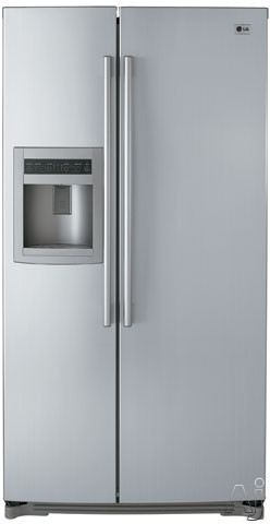 Pa Sales Tax >> LG LSC26905TT 25.9 Cu. Ft. Side by Side Refrigerator with ...