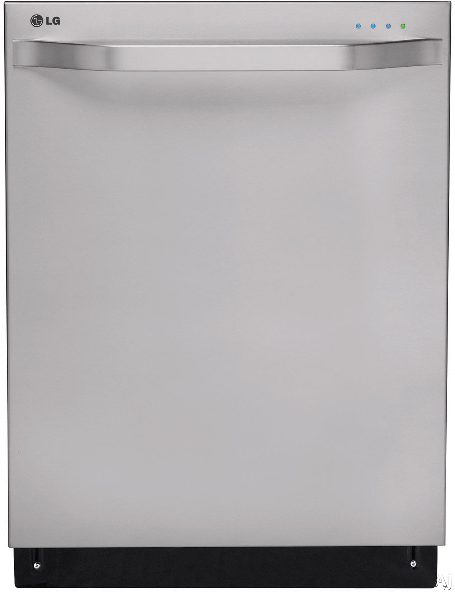 LG Studio LSDF9962ST 24 Inch Fully Integrated Dishwasher with 14-Place Settings, 7 Wash Cycles, Steam Power Cycle, NSF Certified Rinse, SenseClean System, Adjustable 3rd Rack, Silence Rating of 42 dBA and Energy Star Rated: Stainless Steel LSDF9962ST