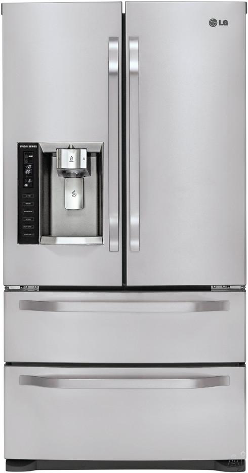 Bottom Freezer Single Door Refrigerator With External Water Dispenser Images