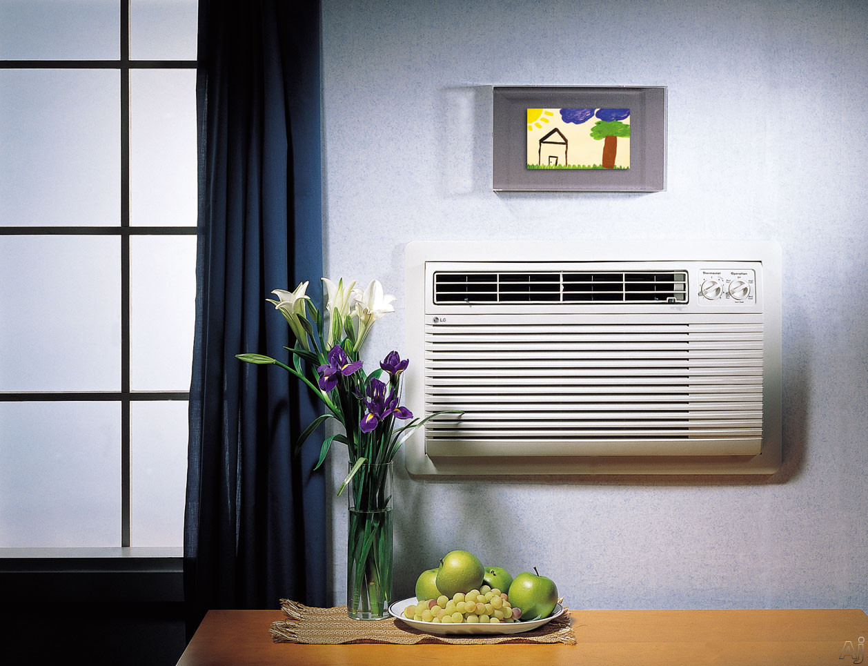 LG LT1010CR 9 800 BTU Through the Wall Cooling Air Conditioner with  #986B33