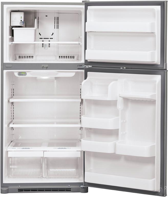 LG LTC19340ST 19.0 cu. ft. Top Freezer Refrigerator with 2 ... Open Empty Freezer