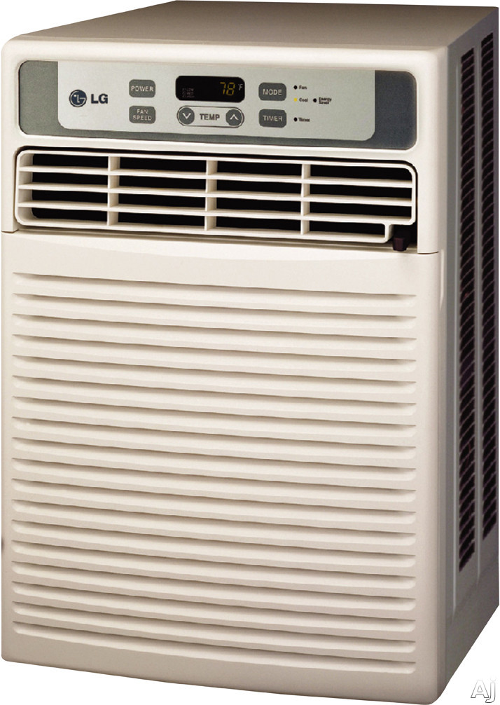 Lg lw1012cr 9 800 casement window air conditioner with 9 5 for 13 inch casement window air conditioner