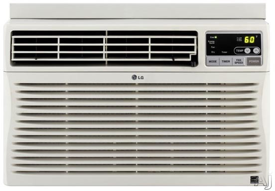LG LW1012ER 10,000 BTU Window Air Conditioner with 10.8 EER, 3.0 Pts / Hr Dehumidification, 24 Hour, U.S. & Canada LW1012ER