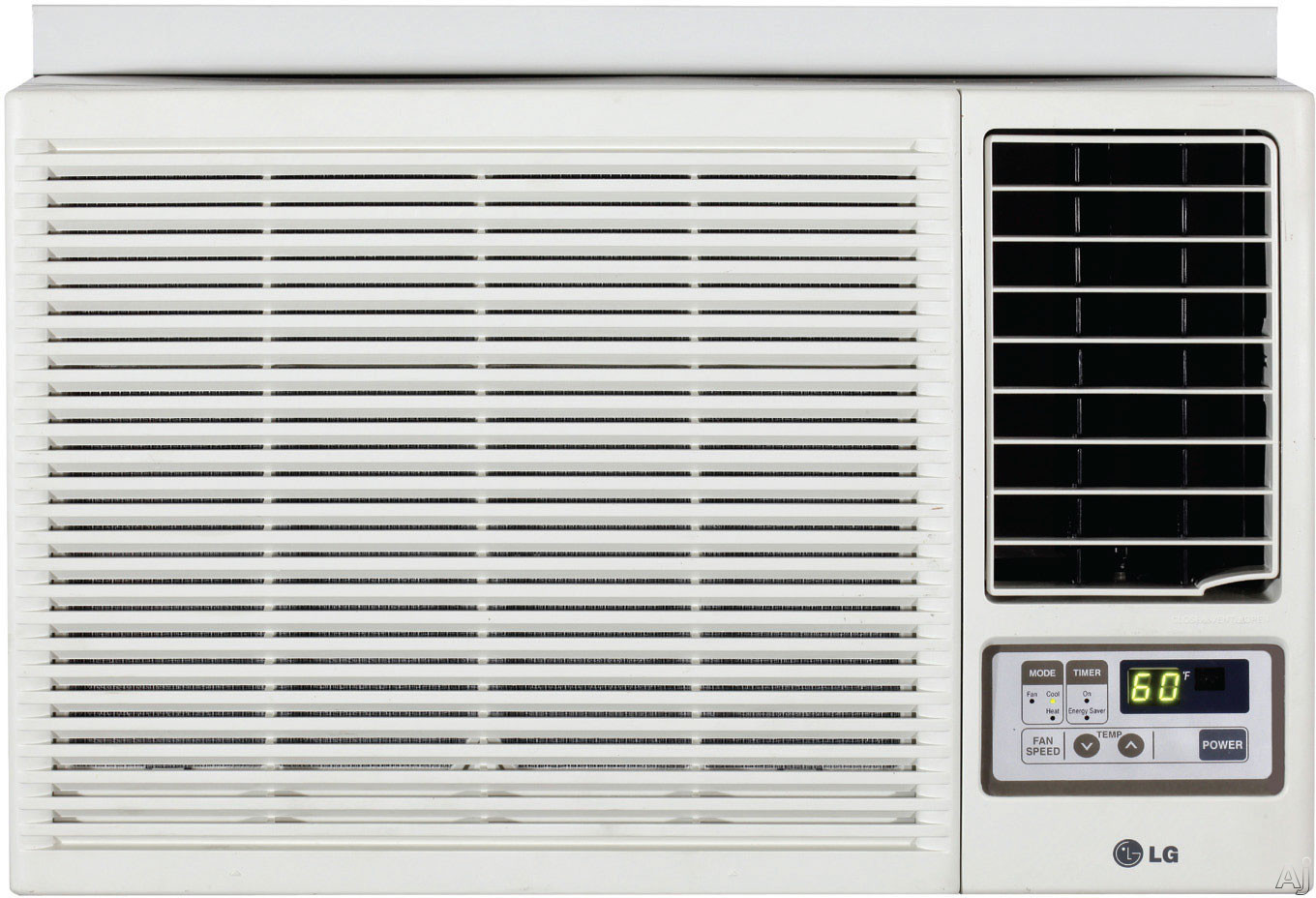New Lg 7000 Btu Window Mounted Air Conditioner With Supplemental  #594F4A