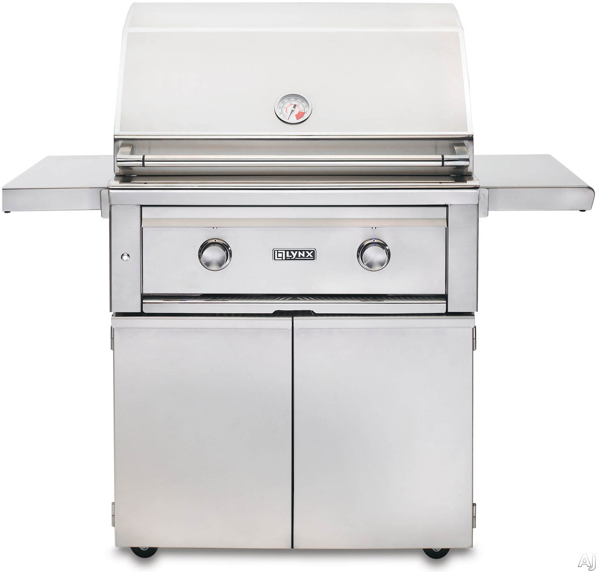 Lynx Sedona Series L500PSNG 30 Inch Built-in Gas Grill with 733 sq. in. Cooking Surface, 46,000 Total BTUs, Stainless Steel Tube Burner, ProSear Burner, Halogen Surface Light and Temperature Gauge: Natural Gas