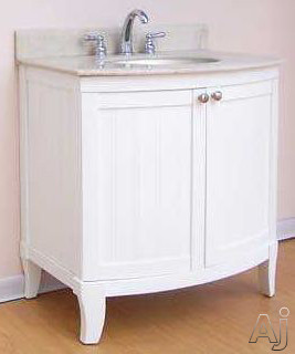 Empire Industries M10030w 30 Contemporary Vanity With 2 Cabinet Doors And Optional Countertops
