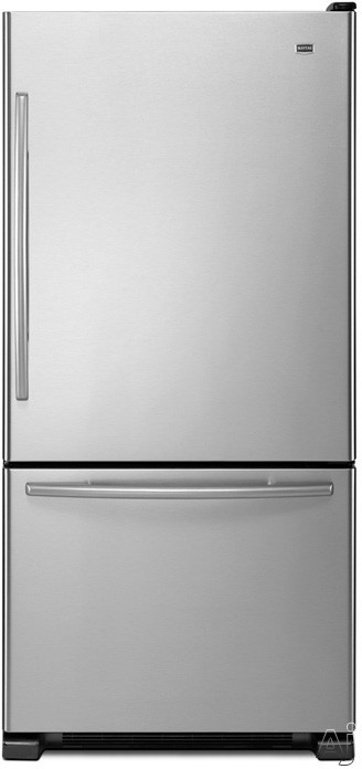 Maytag EcoConserve Series MBF1958XE 18.5 cu. ft. Bottom-Freezer Refrigerator with 5 Spill-Catcher, U.S. & Canada MBF1958XE