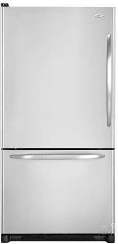 Maytag MBL2256KES 22 cu. ft. Bottom-Freezer Refrigerator with Electronic Dual Cool System and Sealed Freshlock Crispers: Stainless Steel/Left Hinge Door Swing