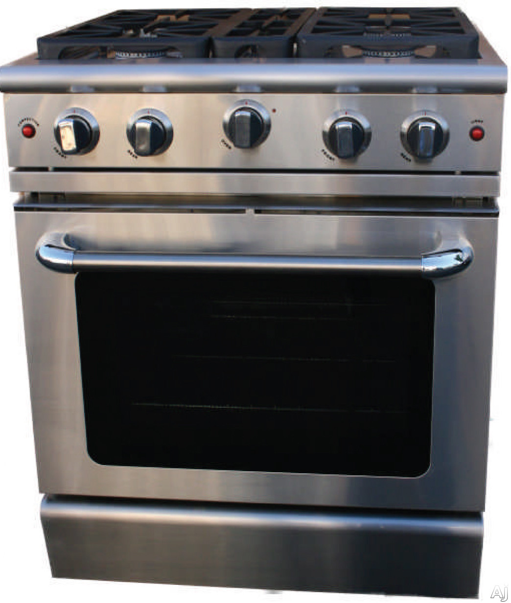 Capital MCR304N 30 Pro Style Gas Range with 4 Power Flo Sealed  #445E88