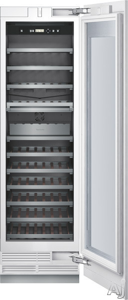 "Thermador Freedom Collection T24IW800SP 24"" Built-in Fully Flush Wine Preservation Column with 98, U.S. & Canada T24IW800SP"