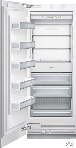 "Thermador Freedom Collection T30IF800SP 30"" Built-in Fully Flush Freezer Column with 15.7 cu. ft., U.S. & Canada T30IF800SP"