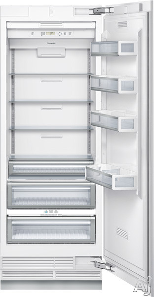 "Thermador Freedom Collection T30IR800SP 30"" Built-in Fully Flush Fresh Food Column with 17.1 cu. ft., U.S. & Canada T30IR800SP"